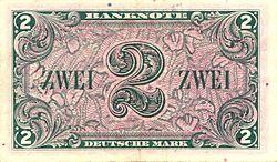 Bargeld Der Deutschen Mark Wikipedia
