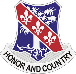 327th Infantry Regiment DUI