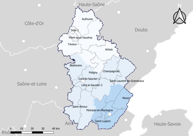 Liste Des Cantons Du Departement Du Jura Wikiwand