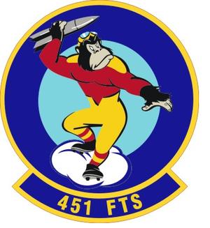 451st Flying Training Squadron - Image: 451 Flying Training Sq emblem