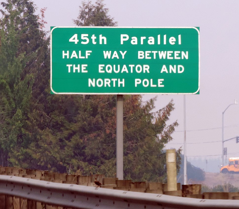 45th Parallel I-5 Keizer OR
