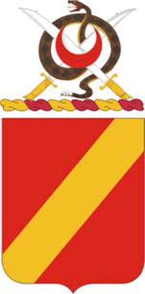 4th Field Artillery Regiment - Coat of arms