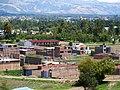 4 Imagen Panomarica del Distrito de Huamancaca Chico, Chilca de fondo.jpg