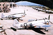 506th Fighter Squadron - P-47 Thunderbolts 1945