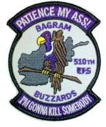510th Expeditionary Fighter Squadron Patch