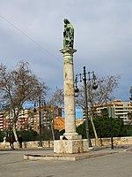 568 Columna de la Mare de Déu del Carme, al Portal Nou (València).jpg