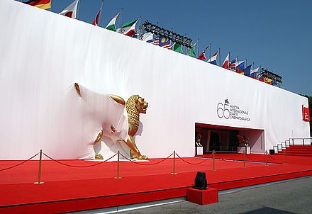 Cinema Palace during the 65th Venice International Film Festival. 65th venice film festival.jpg