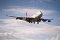 71az - Qantas Boeing 747-400; VH-OJD@SYD;11.09.1999 (4712656869).jpg