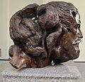 7 Museo Casa Quiroga Mausoleo -- Escultura tallada en raíz de algarrobo por Stephan Erzia.JPG