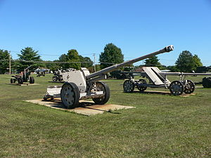 8.8 cm Pak 43 - 8.8 cm Pak 43/41 at US Army Ordnance Museum