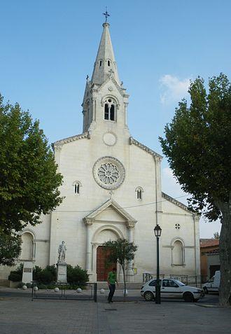 Sainte-Cécile-les-Vignes - The church of Sainte-Cécile-les-Vignes