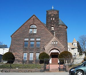 South Unitarian Church - Image: 888 Main Street Worcester