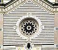 9159 - Milano - Carlo Maciachini, Cimitero Monumentale (1866) - Rosone famedio - Foto Giovanni Dall'Orto, 25-Sept-2007.jpg