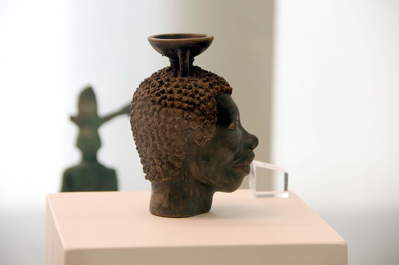 File:9522 - Head of an African, ca. 500 BC - Reggio Calabria archaeological museum - Photo by Giovanni Dall'Orto, October 27 2016.jpg