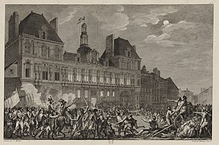 Thermidorian Reaction Counter-revolution in France against Robespierre, July 1794