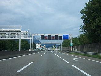West Autobahn - Walserberg border crossing