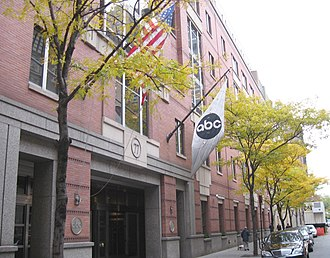 American Broadcasting Company - ABC's previous corporate headquarters are located at 77 West 66th Street, on the Upper West Side of Manhattan in New York City.