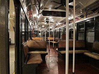 AB Standard (New York City Subway car) - Image: AB Standard Interior