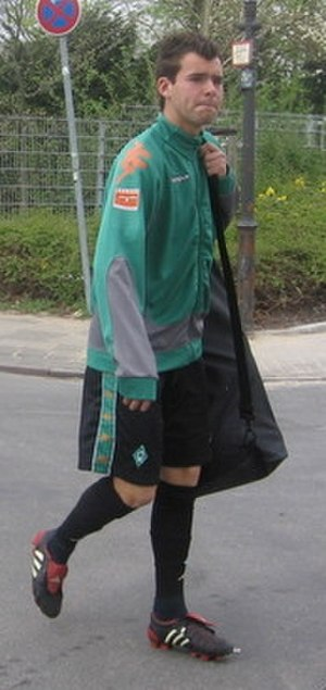 Amaury Bischoff - Bischoff training with Werder Bremen in 2007