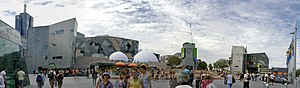 Australian Centre for the Moving Image - Panorama of Federation Square