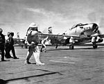 AD-6 VA-155 launching from USS Wasp (CVA-18) 1956.jpg
