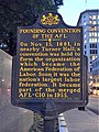 AFL Founding Convention historical marker, Pittsburgh.jpg