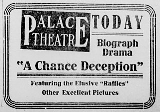 <i>A Chance Deception</i> 1913 film