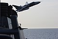 A Russian Sukhoi Su-24 attack aircraft flies over USS Donald Cook. (26426606725).jpg