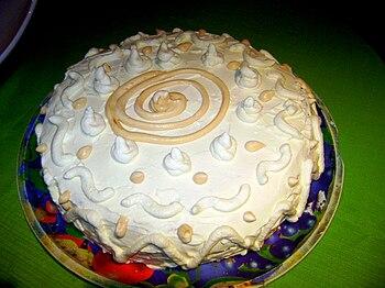 English: A cake.
