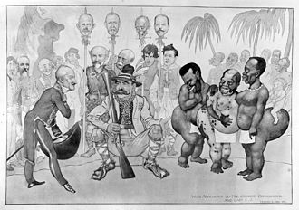 Raphaël Blanchard - Caricature featuring Raphael Blanchard, watercolour by Munro Scott Orrafter, 1913.