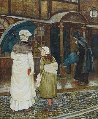Edward Robert Hughes - Image: A rainy Sunday Edward Robert Hughes