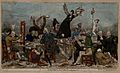 A rowdy dinner of British political radicals at John Horne T Wellcome V0050194.jpg