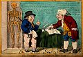 A sailor with a bandaged eye consulting a quack doctor. Colo Wellcome V0011005.jpg