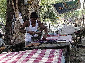Dhobi - Image: A washerman
