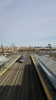 File:A westbound Amtrak train passing through the Newark Airport Station.webm