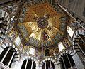 Aachener Dom, Kuppelgewölbe des Oktogons.jpg
