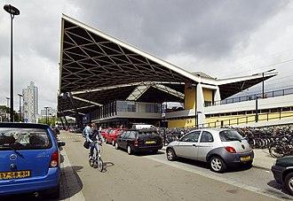 Tilburg railway station - Image: Aanzicht station Tilburg 20535536 RCE
