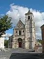 Abbey Church at Berteaucourt - Nice Day - panoramio.jpg