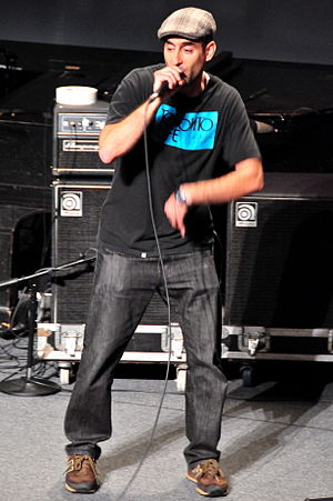 Abdominal (rapper) - Abdominal at the 2008 Poptech conference.