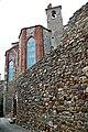 Abside della chiesa di San Francesco (Lucignano) 1.jpg