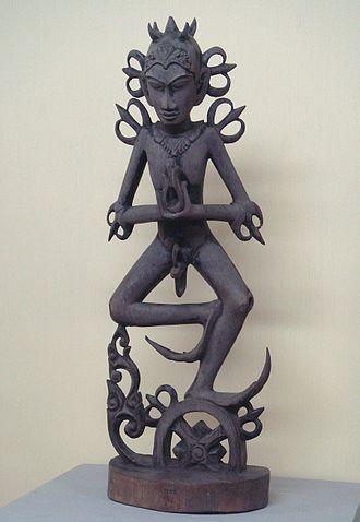 Acintya - Statuette of Acintya, Bali Museum