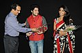 """Actress Paoli Dam and Actor Vikram Chatterjee at the Presentation of the Movie """"Elar Char Adhyay"""", at the 43rd International Film Festival of India (IFFI-2012), in Panaji, Goa on November 25, 2012.jpg"""