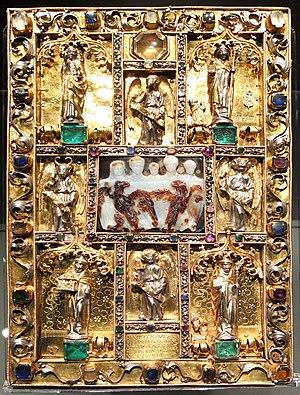 Ada Gospels - The 1499 gold binding