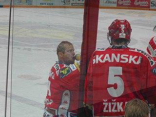 Adam Svoboda Czech ice hockey player