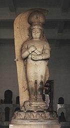 Statue of Adityawarman, founder of the first Minangkabau kingdom.