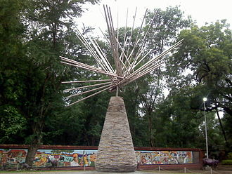 Gowari - Shaheed Gowari Memorial at Zero Mile, Nagpur