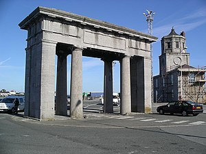 Salt Island, Anglesey -  Admiralty Arch on Salt Island