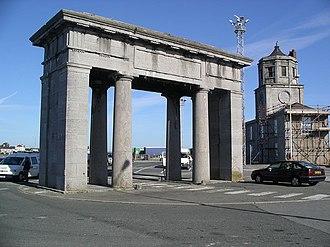 Salt Island, Anglesey - Admiralty Arch on Salt Island