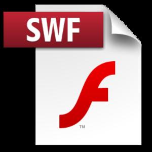 SWF - Image: Adobe swf icon