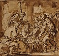 Adoration des bergers, drawing.JPG